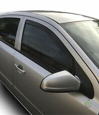 VAUXHALL ASTRA H mk5  2004-2012 SET OF FRONT WIND DEFLECTORS HEKO TINTED 2pc