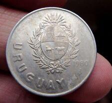 1980 Pesos De Uruguay De 1 Neuvo