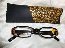 Reading Glasses-Gold Hibiscus 1.50