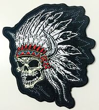CHIEF SKULL BIKER MC PATCH