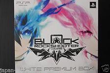 JAPAN PSP Game: Black Rock Shooter The Game White Premium Box