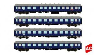 HS Hobbytrain / LS Models  H43031 Wagenset  F-Zug 1954  DB 4tlg A/c Wechselstrom