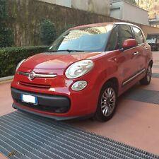 FIAT 500L 1,3 Multijet  rossa diesel 36000 Km.