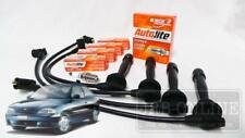 Hyundai Excel X3 G4FK 1.5L 98~2000  Spark Plugs & Ignition Leads SERVICE KIT