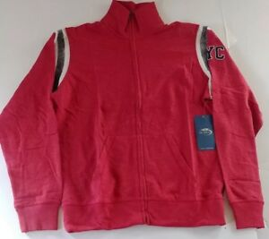 US Open NYC 47 Brand Men's Full Zip Jacket NWT Medium Reg $100