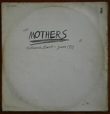 FRANK ZAPPA & MOTHERS FILLMORE EAST-JUNE 1971 RARE ORIG DIFF ISRAELI LP 1st