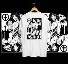 Cult Boyfriend Anime T-shirt White Tattoo Streetwear Obey stussy skate S M L XL