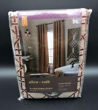 Allen + Roth Makana Rust Grommet 84 inch Top Panel New 0939086