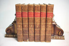 1822 6 Volume Set HISTORY OF MODERN EUROPE *Progress of Society*William Russell