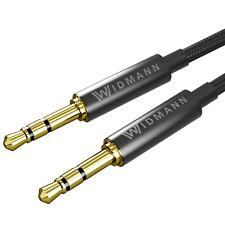 1m AUX Audio Kabel 3,5mm Klinke Stecker Klinkenkabel Handy HTC iPhone PC Auto ?