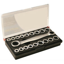 CT1546 19PC Hex And Star Interchangeable Ratchet Spanner Wrench Set And Inserts