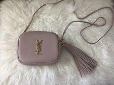 Authentic YSL Blogger Bag Blush Crossbody Purse