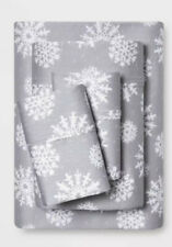 400 Count Snowflake Sheet Set Full/Queen