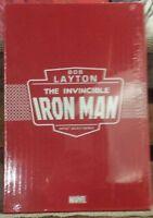 BOB LAYTONS IRON MAN ARTIST SELECT HC IDW MARVEL NEW/SEALED