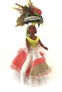 Vintage Souvenir Dolls- Chiquita Doll- Virgin Islands