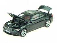 BMW F32 4er Coupe saphir black diecast model car iScale 1/43