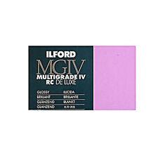 Ilford Multigrade MGIV RC De Luxe 13x18 /100f  1M Lucida - Carta Fotografica B/N