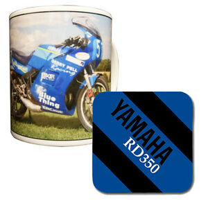 Yamaha RD350 YPVS Mug & Coaster
