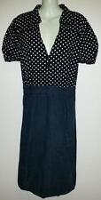 Polka Dot Plus Size 100% Cotton Dresses for Women