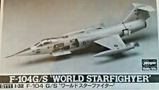 Hasegawa 1:32 F-104G/S World Starfighter Model Kit ST11 *Sealed Bags, Wrong Box*