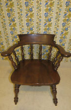 Ethan Allen Royal Charter Oak Collection Captain's Arm Chair 16 6002