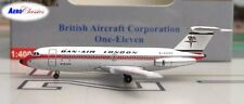 Aeroclassics ACGAZED Dan Air London BAC-111 G-AZED Diecast 1/400 Model Airplane