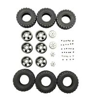 DIY Doppel Reifen Metall Rad KIT für Wpl B14 B24 Q62 Q63 1/16 Lkw 4WD Rc Au I5A9