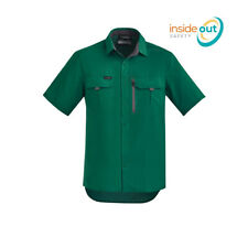 Syzmik Workwear Mens Outdoor Short Sleeve Shirt ZW465
