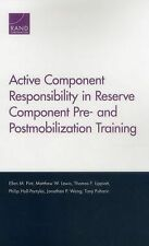 Active Component Responsibility in Reserve Component Pre- and Postmobi-ExLibrary