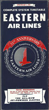 Eastern Air Lines system timetable 7/1/59 [9072] Buy 4+ save 25%