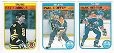 82-83 OPC Ray Bourque O-Pee-Chee Boston Bruins 1982-83