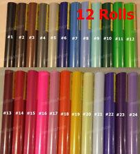 VINYL ROLLS Vinyl Cutter Plotter 12 rolls, each roll 600mm x 9m cutting plotter