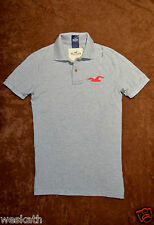 NWT HOLLISTER HCO by Abercrombie A&F Mens Pique POLO Shirt Collar Size S M L NEW