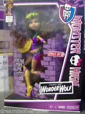 Monster High Doll Power Ghoul Clawdeen Wolf Wonder Wolf New in Box