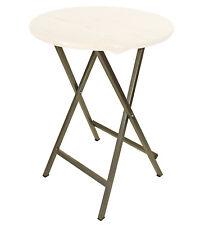 Stehtischgestell Untergestell Tischgestell für Stehtisch, Stahl grau beschichtet