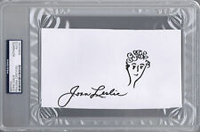 JOAN LESLIE Signed Sketch Drawing Yankee Doodle Dandy Actress Autograph PSA/DNA
