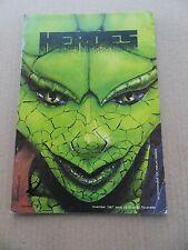 Heroes 4 .  Blackbird Comics  1987   - FN - minus