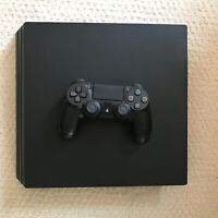 Sony PlayStation 4 (PS4) Pro 500GB SSD w/ Controller, Cables