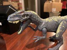 Jurassic World Fallen Kingdom Allosaurus Grey Action Figure Mattel w/ Sound