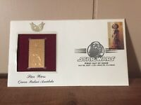 # 41 US FDC Stamps Scott 22K Gold Plated STAR WARS - QUEEN PADME AMIDALA