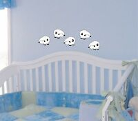 Counting Sheep Wall Decal baby room removable sticker nursery kids children deco