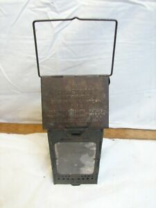Stonebridge Folding Candle Holder Lantern Mica Window Camping Bondon Vallo Pat