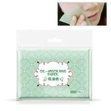 100pcs Facial Oil Control Papers Wipes Sheets Absorbing Face Blotting Cleaner