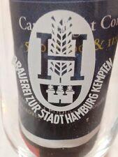 Brauereizur Stadt Hamburg Kempten Beer Glass