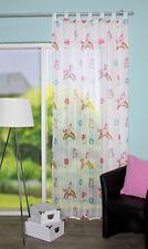 Schlaufenschal Einhorn Regenbogen multicolor BxH 140x245 Gardine Vorhang Kinder
