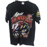 Matt Kenseth Mens M Medium Black T Shirt NASCAR Racing Racer Racecar Adult Tee