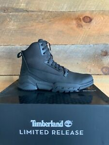 Timberland Men's Cityforce Raider Black Limited Release L/F Mid Boot Tectuff 10