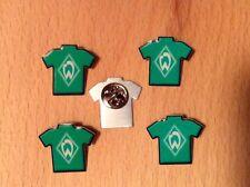 5 Stk. Fußball-Bundesliga Pin Anstecknadel SV Werder Bremen -neu und ovp-