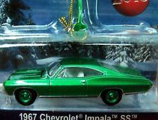 Greenlight GREEN MACHINE 67 1967 Chevrolet Impala SS Holiday Ornaments Chevy Car