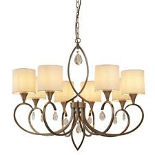 Lustre Suspension Luminaire Suspendu Lampe à Suspension Antique Laiton